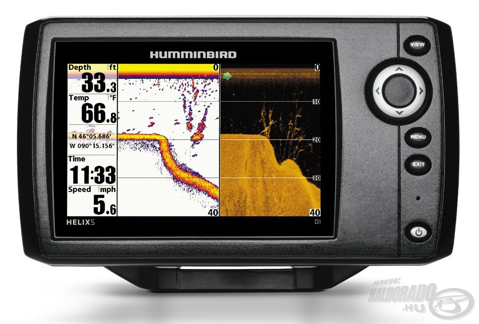 HUMMINBIRD, Helix, 5, DI, 124990Ft