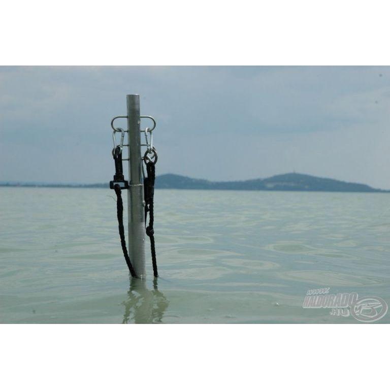 IHP Carp Company Alu haltartó adapter medertapogató rúdhoz