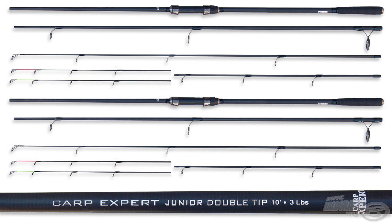 Carp Expert Junior Double Tip 3 m 3 Lbs p�ros29980 helyett 17990Ft