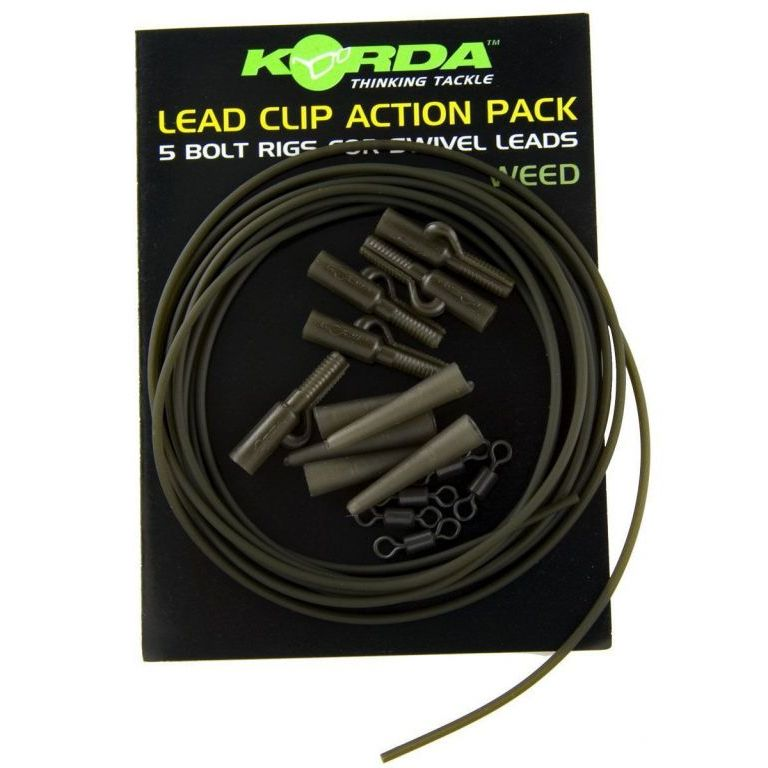 KORDA Lead Clip Action Pack Weed