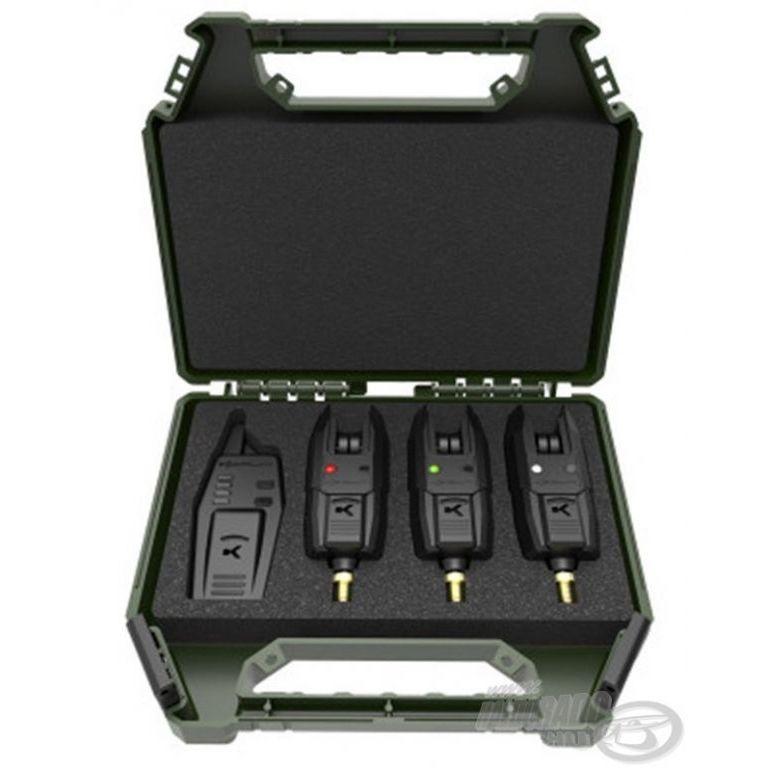 KORUM KB-R Elektromos kapásjelző készlet 3+1 darabos