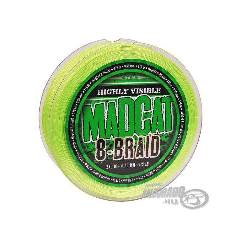 MAD CAT G2 8 Braid - 270 m 0,50 mm