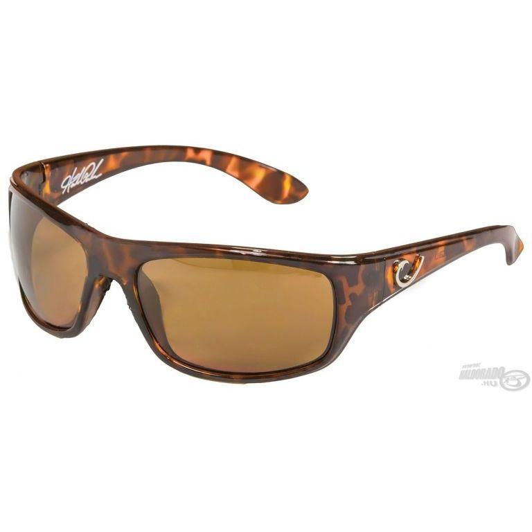MUSTAD HP100A-3 napszemüveg amber lencsével