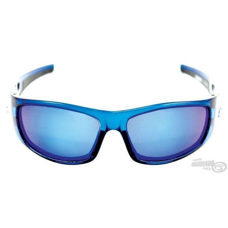 MUSTAD HP106A-1 napszemüveg smoke-blue revo lencsével