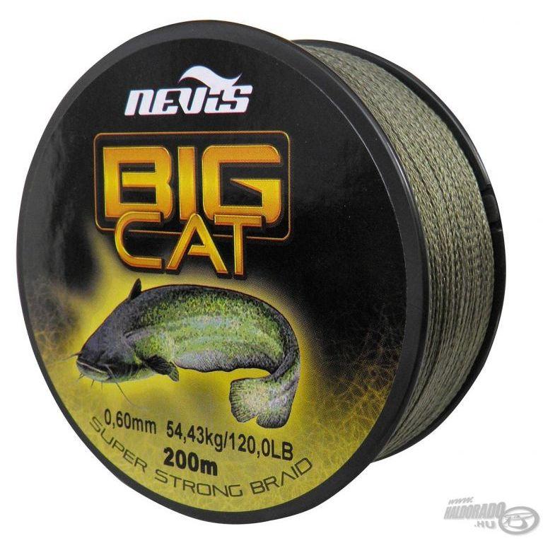 NEVIS Big Cat fonott zsinór 0,50 mm 200 m