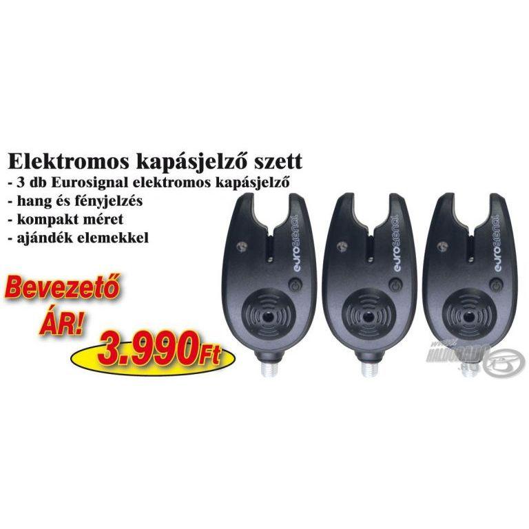 NEVIS Eurosignal elektromos kapásjelző 3 db