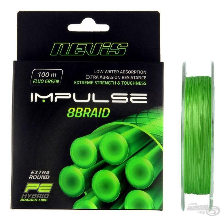 NEVIS Impulse 8 Braid 100 m - 0,14 mm
