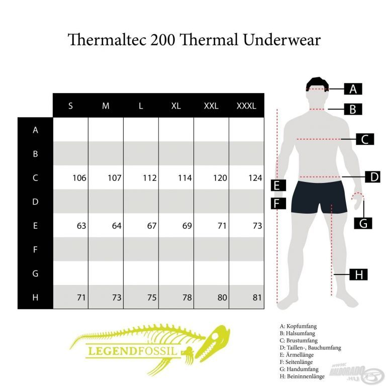 NEVIS Thermaltec 200 Thermo alsóruházat M