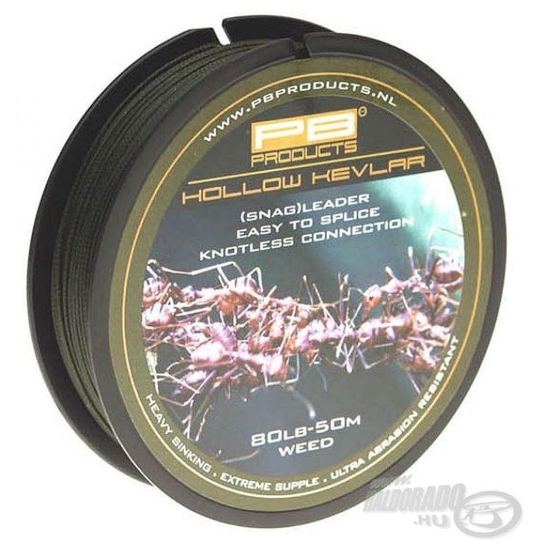 PB PRODUCTS Hollow Kevlar Weed 80 Lb