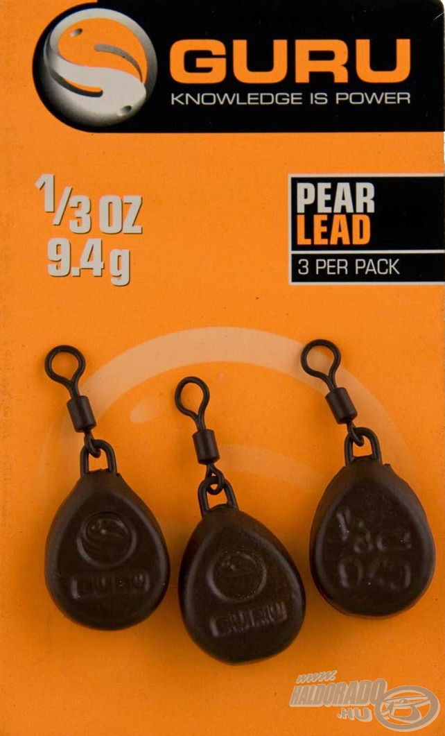 GURU, Pear, Lead, 990Ft
