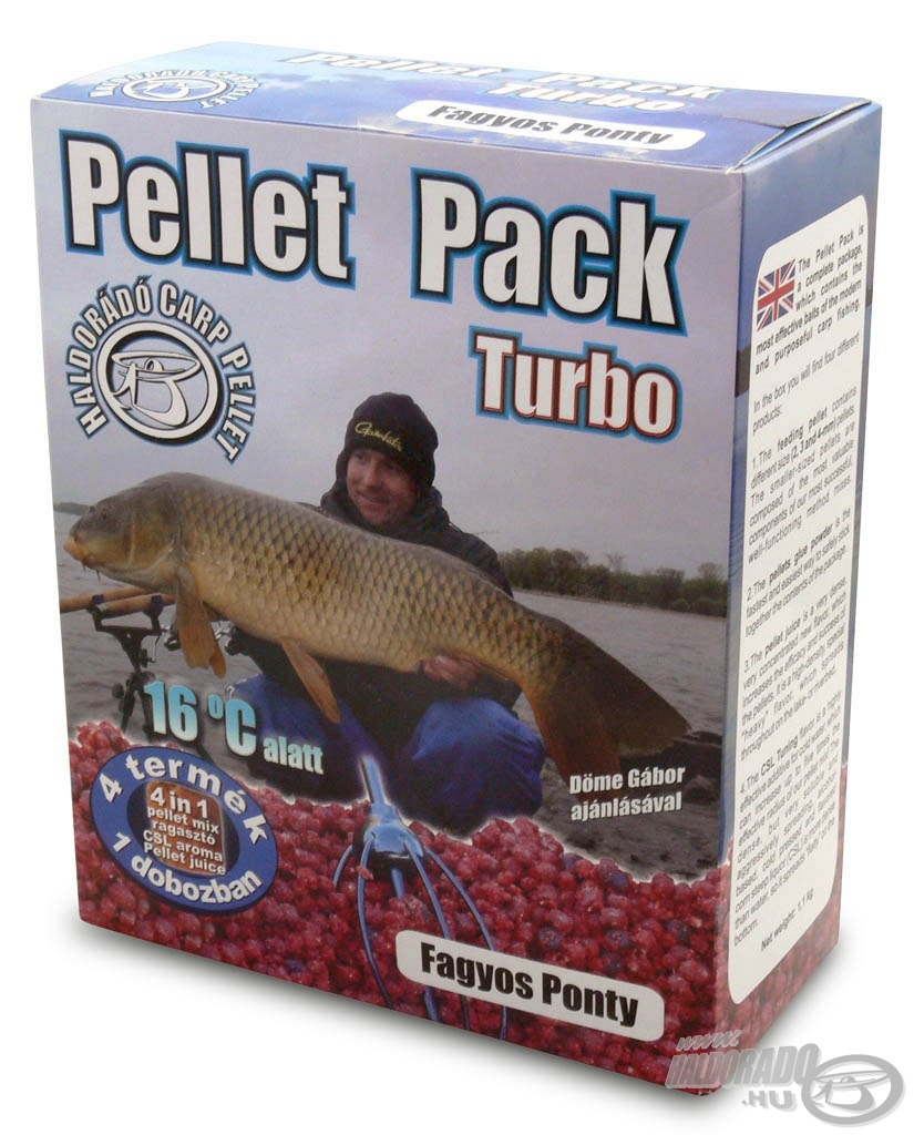 HALDOR�D�, Pellet, Pack, Turbo, -, Fagyos, Ponty, 2790Ft