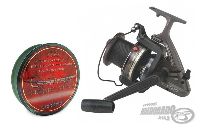 SHIMANO Power Aero GT 6000 + aj�nd�k zsin�rral29990 helyett 18990Ft