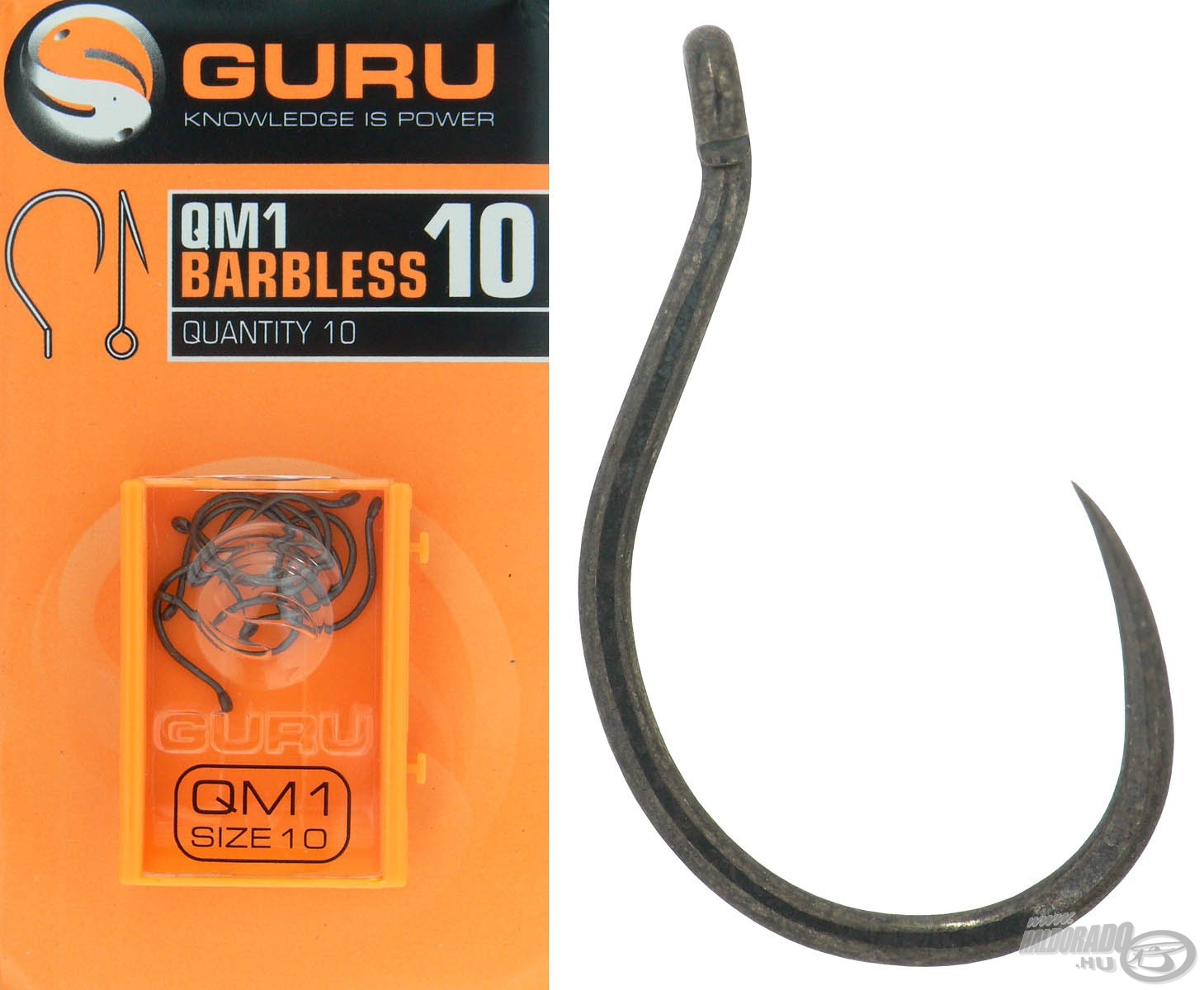 GURU, QM1 Barbless - 10
