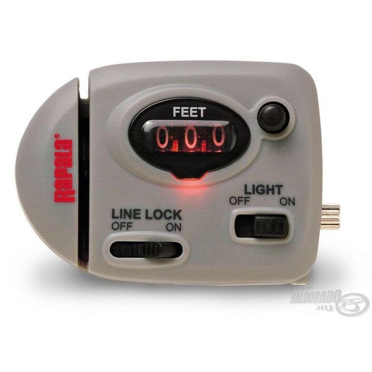 Rapala Zsinórmérő világítással