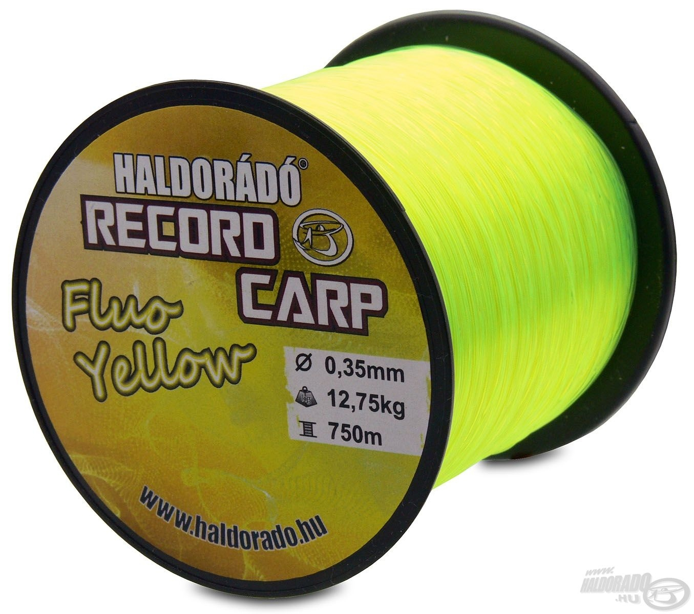 HALDOR�D�, Record, Carp, Fluo, Yellow, 1990Ft