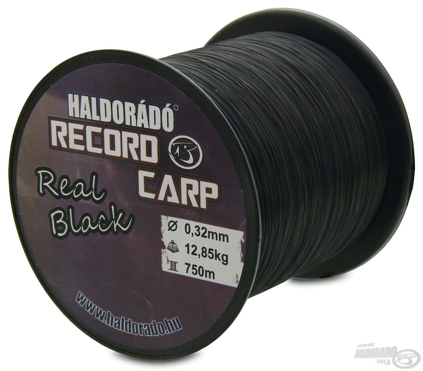 HALDOR�D�, Record Carp Real Black 0,24 mm / 900 m