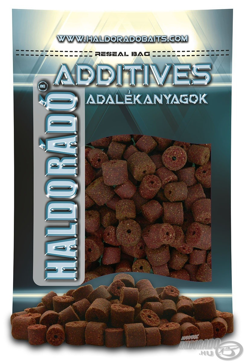 HALDOR�D�, |, Red, Halibut, Pellet, 0,8, kg, /, 12-16, mm 990Ft