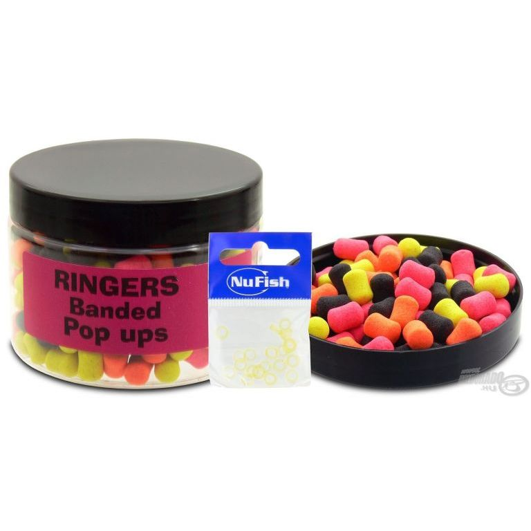 RINGERS Banded Allsorts Pop Ups pellet