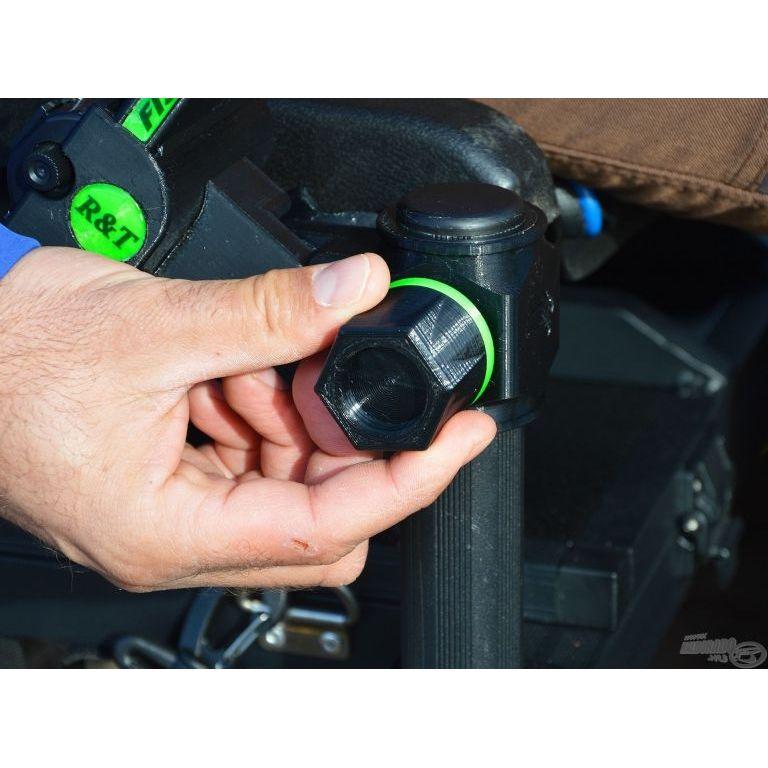 R&T Dupla halszámláló digitális stopperrel limitált kék