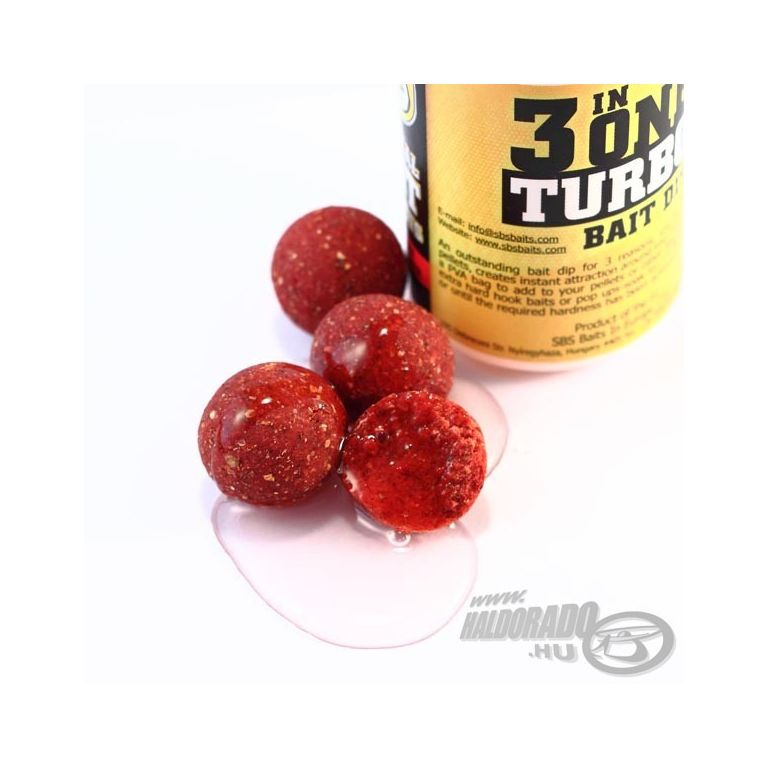 SBS 3 in One Turbo Bait Dip Frankfurter Sausage 80 ml
