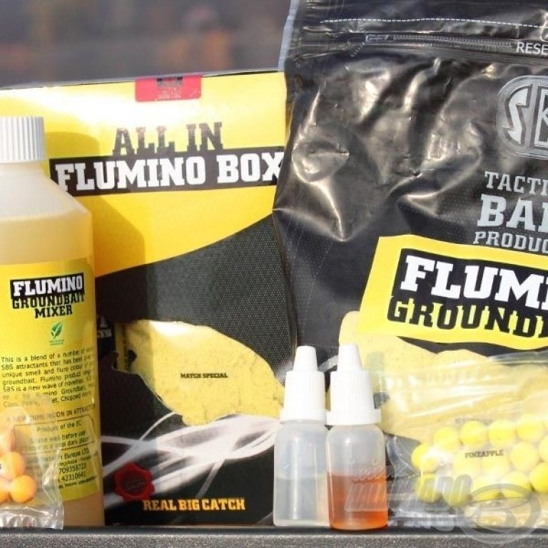 SBS All In Flumino Box - Cranberry