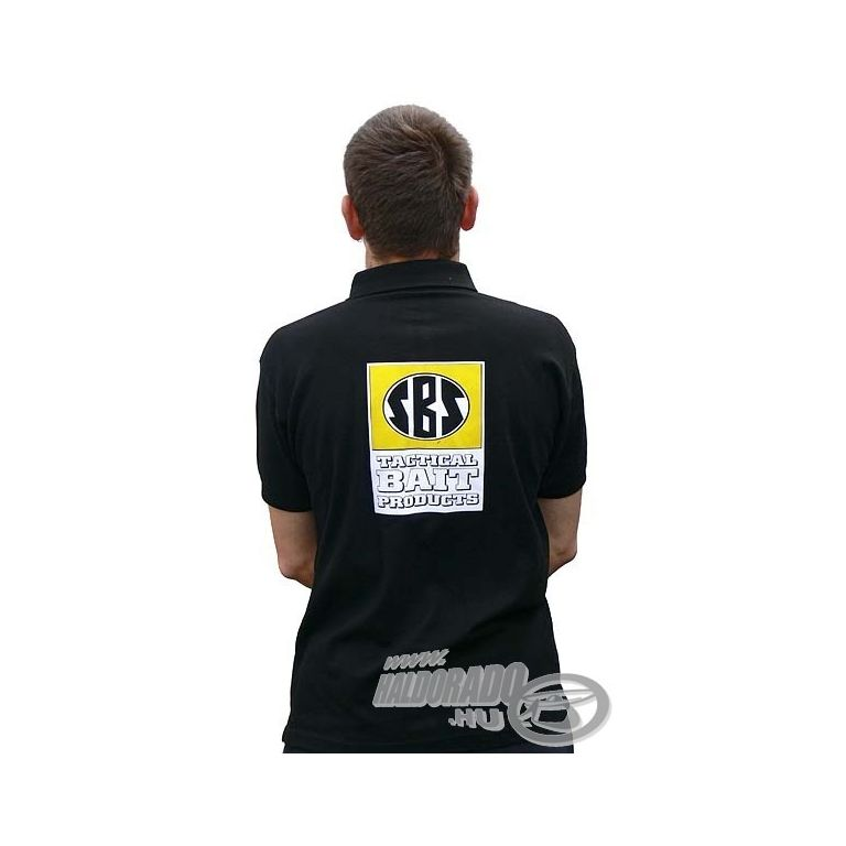 SBS Galléros fekete póló M