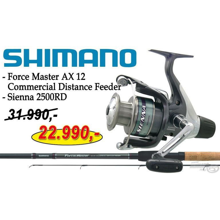 SHIMANO Force Master AX 12 Commercial Distance Feeder Sienna 2500RD orsóval