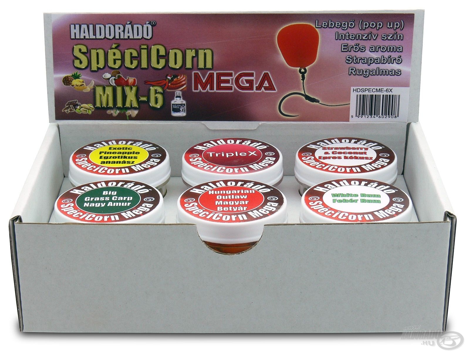 HALDOR�D�, Sp�ciCorn, Mega, -, MIX-6 6530, helyett, 5490Ft