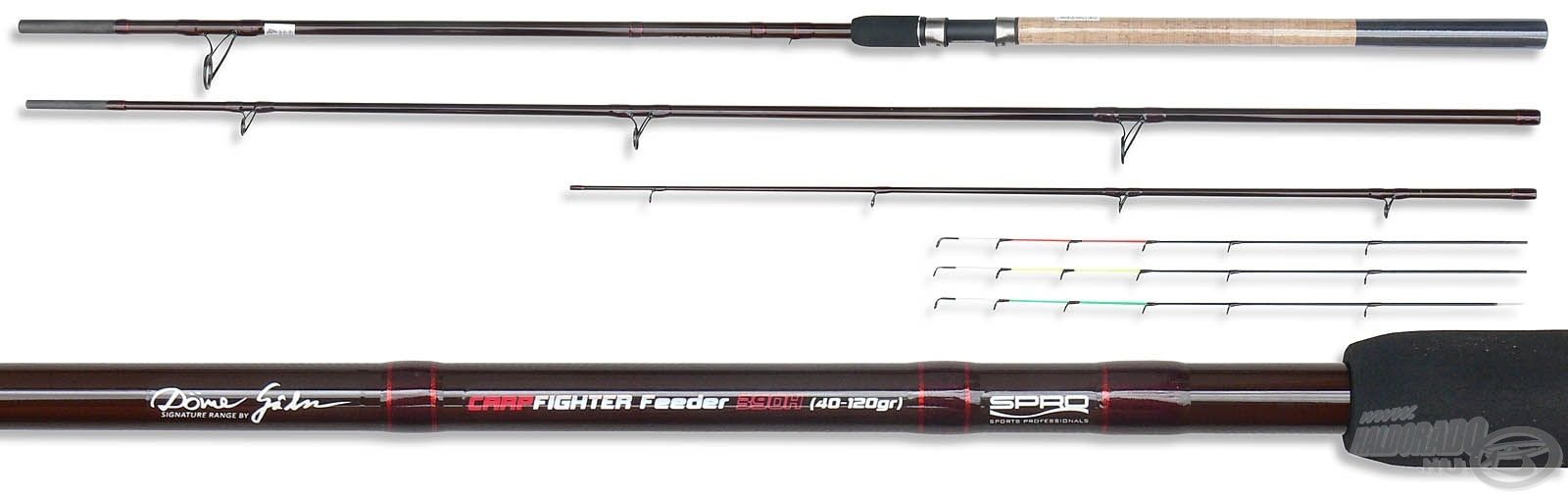 SPRO Team Feeder Carp Fighter 360XXH - by D�me G�bor 19990Ft