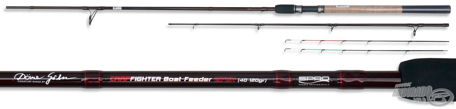 SPRO Team Feeder Carp Fighter Boat - by D�me G�bor 12990Ft-t�l