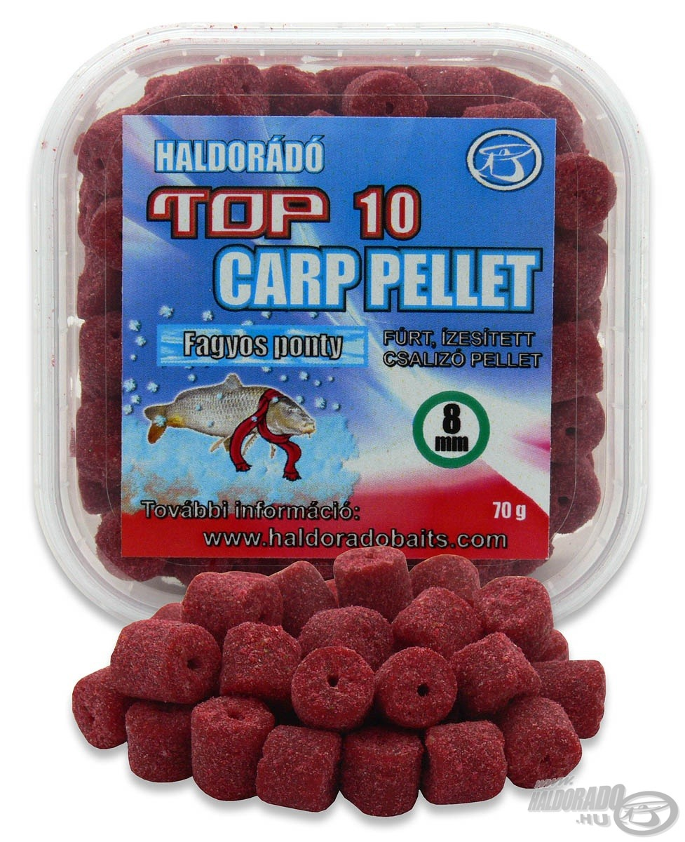 HALDOR�D�, TOP, 10, Carp, Pellet, 990Ft