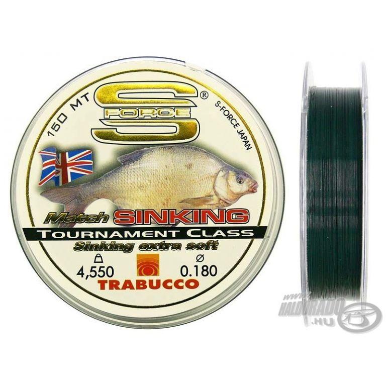 TRABUCCO S-Force Match Sinking 0,25 mm