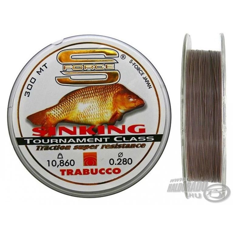 TRABUCCO S-Force Sinking Carp 0,35 mm
