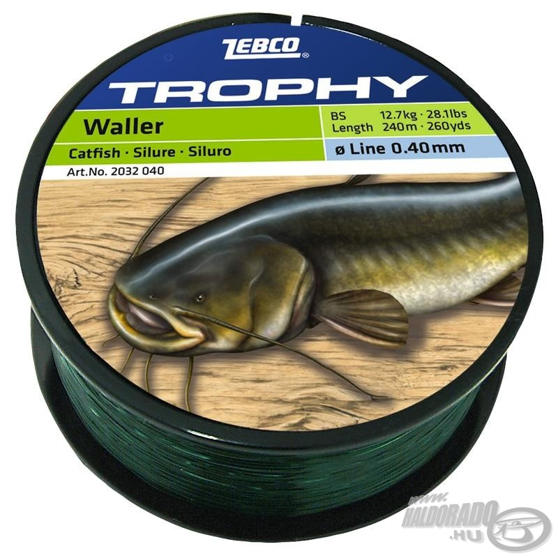 ZEBCO, Trophy, Catfish, 1490Ft