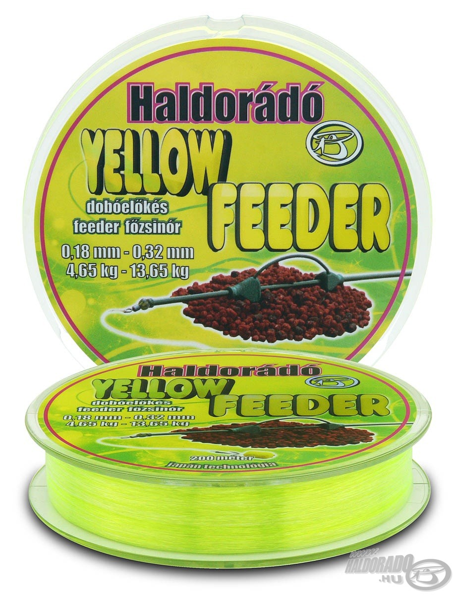 HALDOR�D�, Yellow Feeder 0,18+0,32 mm
